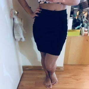 BR Black Bandage Skirt